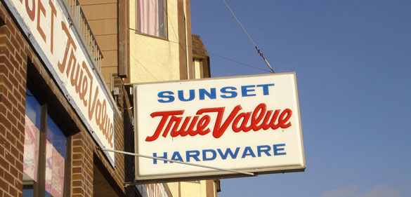 Sunst TrueValue Hardware San Francisco